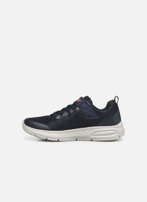 Baskets Skechers Dyna-Air Bleu vue face