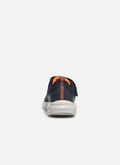 Sneakers Skechers Dyna-Air Blauw rechts