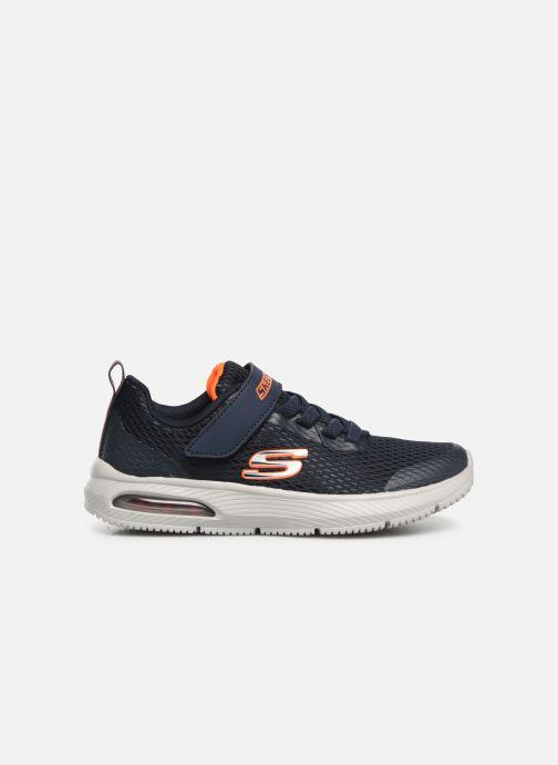 Sneakers Skechers Dyna-Air Blå bild från baksidan