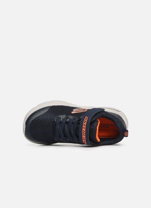 Sneakers Skechers Dyna-Air Blå bild från vänster sidan