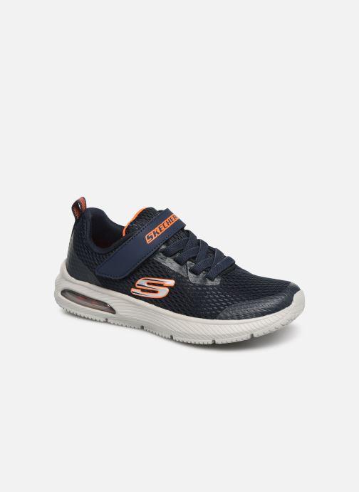 Sneakers Skechers Dyna-Air Blå detaljerad bild på paret