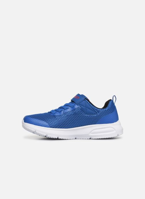 Trainers Skechers Dyna-Air Blue front view