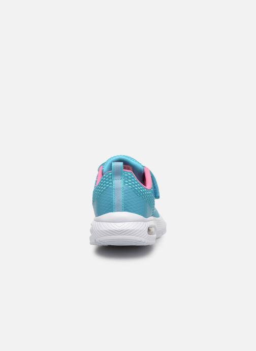 Baskets Skechers Dyna-Air Bleu vue droite