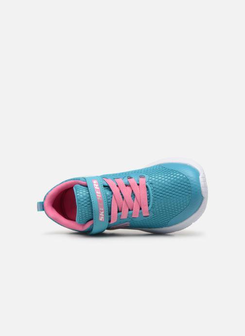 Baskets Skechers Dyna-Air Bleu vue gauche