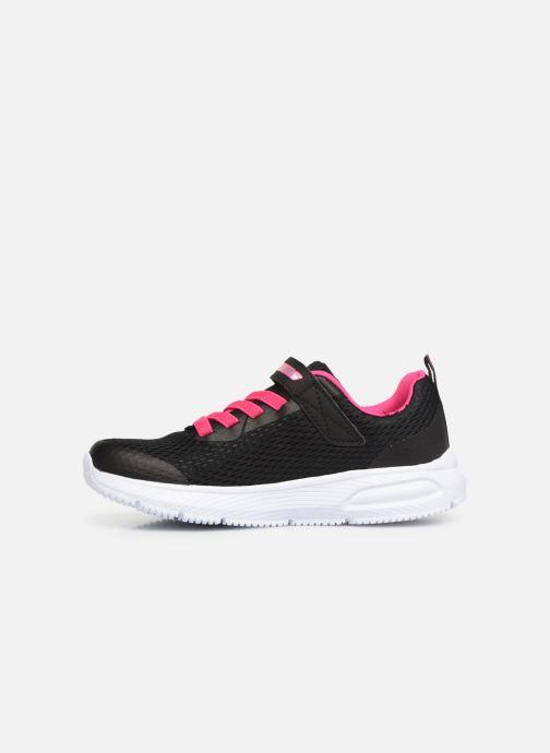 Sneaker Skechers Dyna-Air schwarz ansicht von vorne