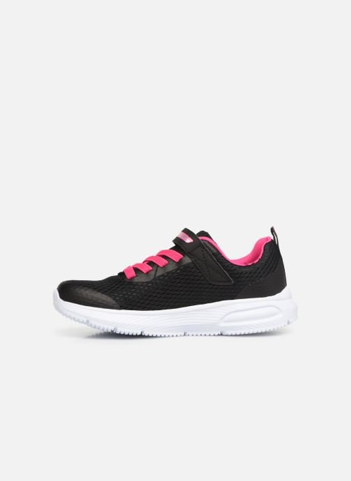 Trainers Skechers Dyna-Air Black front view