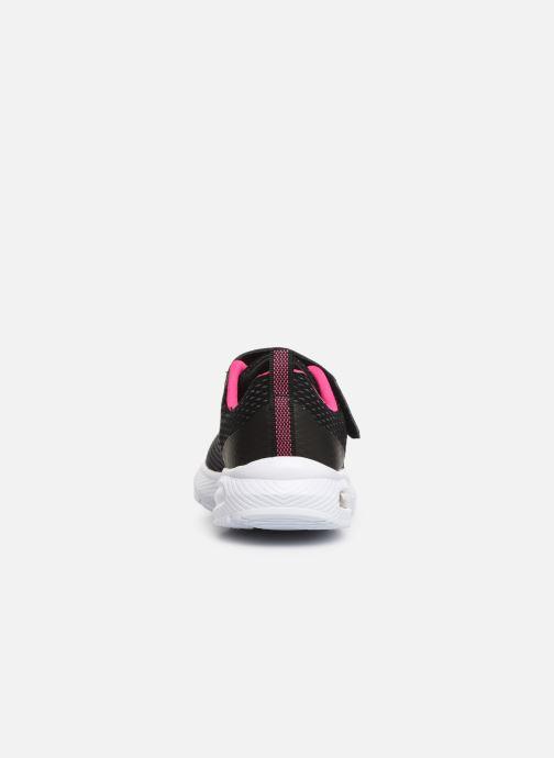 Sneaker Skechers Dyna-Air schwarz ansicht von rechts