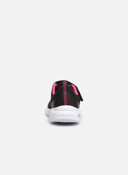 Trainers Skechers Dyna-Air Black view from the right