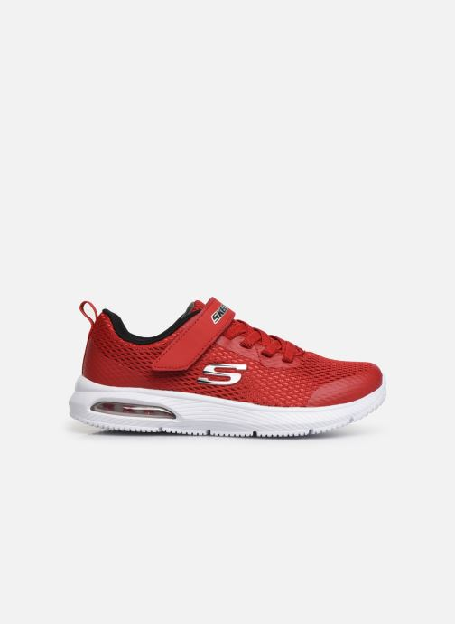 Sneakers Skechers Dyna-Air Rosso immagine posteriore