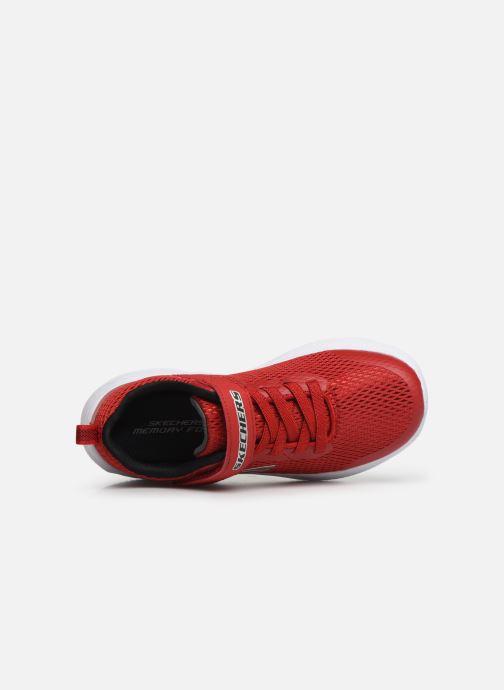 Sneaker Skechers Dyna-Air rot ansicht von links