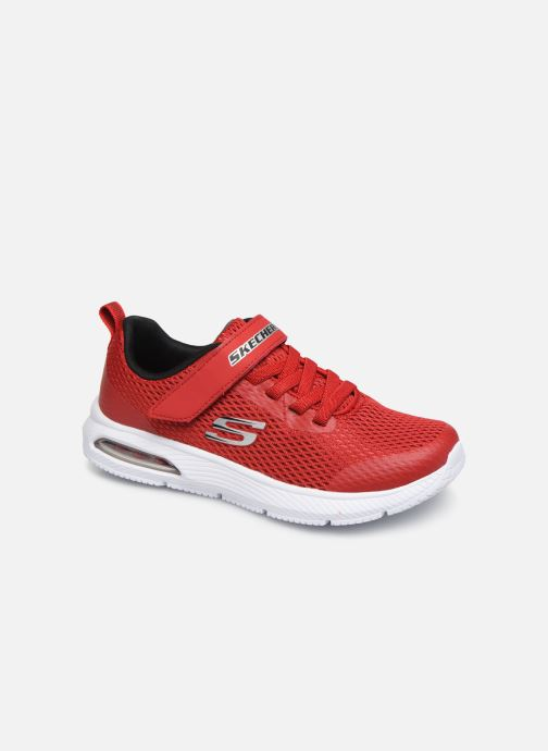 Trainers Skechers Dyna-Air Red detailed view/ Pair view