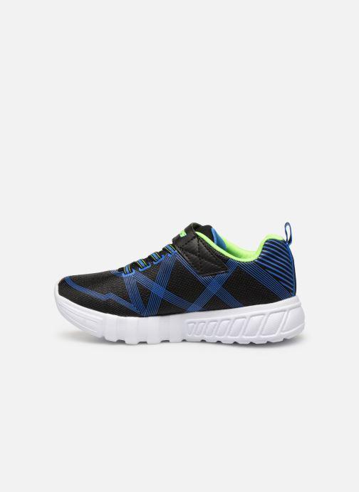 Sneaker Skechers Flex-Glow schwarz ansicht von vorne
