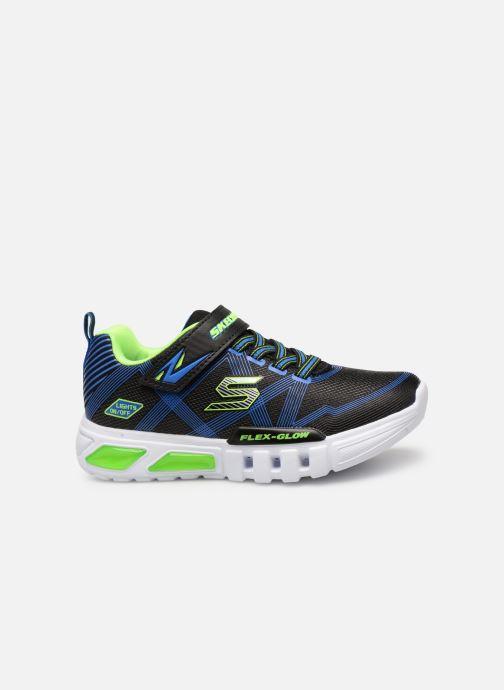 Sneaker Skechers Flex-Glow schwarz ansicht von hinten