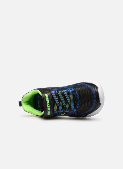 Deportivas Skechers Flex-Glow Negro vista lateral izquierda