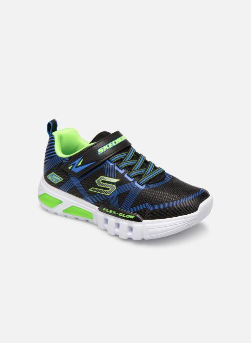 Sneakers Skechers Flex-Glow Sort detaljeret billede af skoene