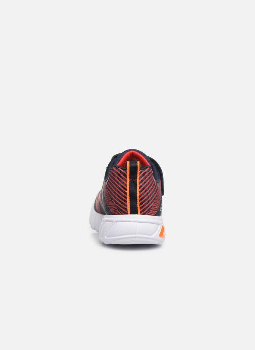 Sneakers Skechers Flex-Glow Sort Se fra højre