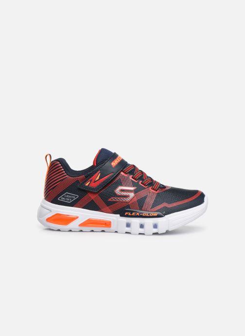 Sneakers Skechers Flex-Glow Sort se bagfra