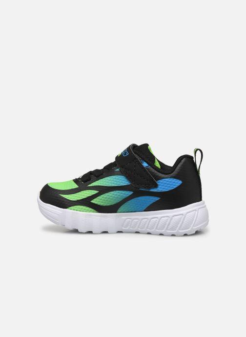 Baskets Skechers Flex-Glow Noir vue face