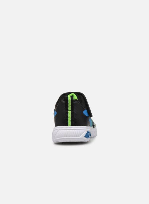 Baskets Skechers Flex-Glow Noir vue droite