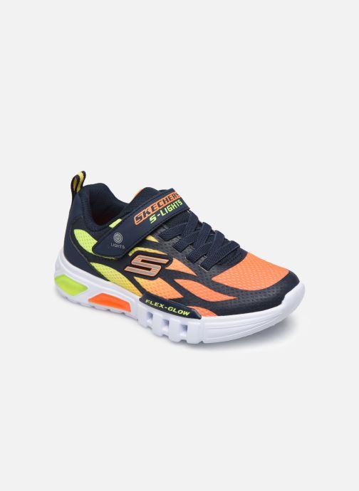 Baskets Skechers Flex-Glow Multicolore vue détail/paire