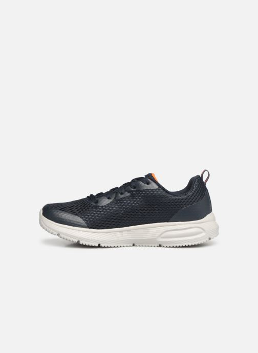 Trainers Skechers Dyna-Air Quick Pulse Blue front view