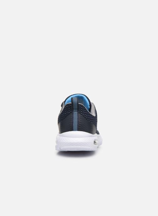 Deportivas Skechers Dyna-Air Quick Pulse Azul vista lateral derecha