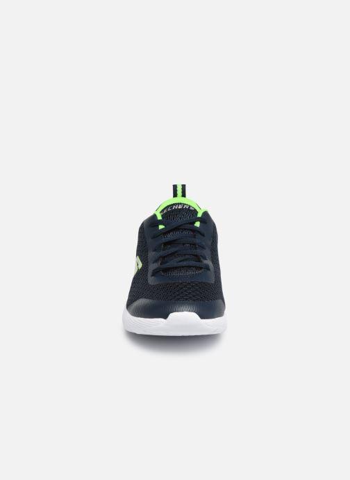 Zapatillas de deporte Skechers Dyna-Lite Speedfleet Azul vista del modelo