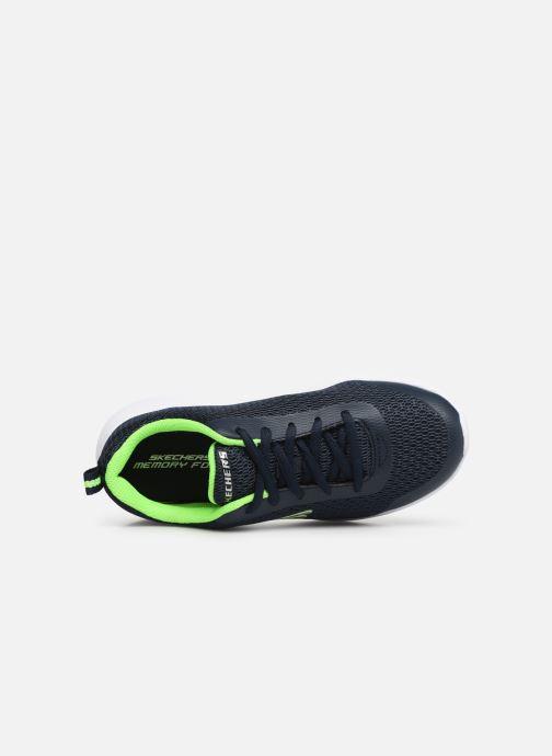 Sportschuhe Skechers Dyna-Lite Speedfleet blau ansicht von links