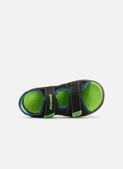 Sandales et nu-pieds Skechers Sun Spurt Noir vue gauche