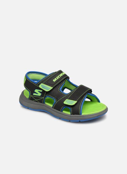 Sandales et nu-pieds Skechers Sun Spurt Noir vue détail/paire