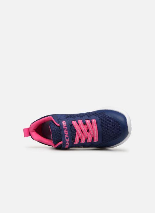 Sportschuhe Skechers Dynamight Lead Runner blau ansicht von links