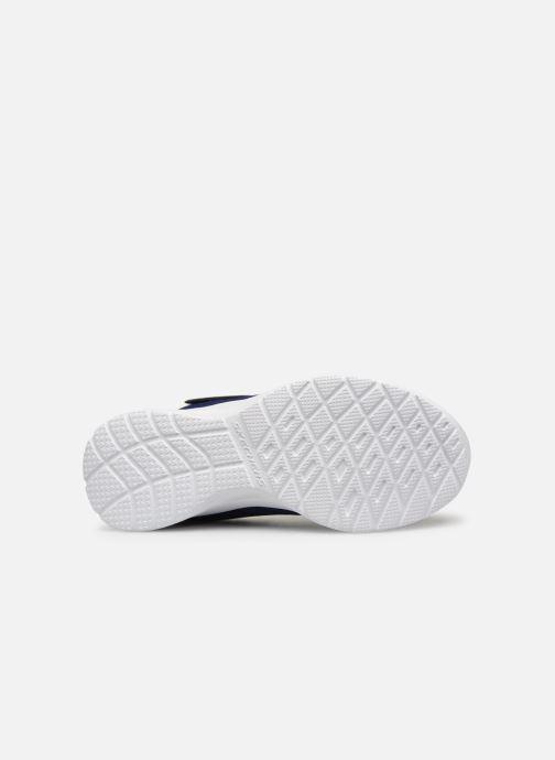 Chaussures de sport Skechers Dynamight Lead Runner Bleu vue haut