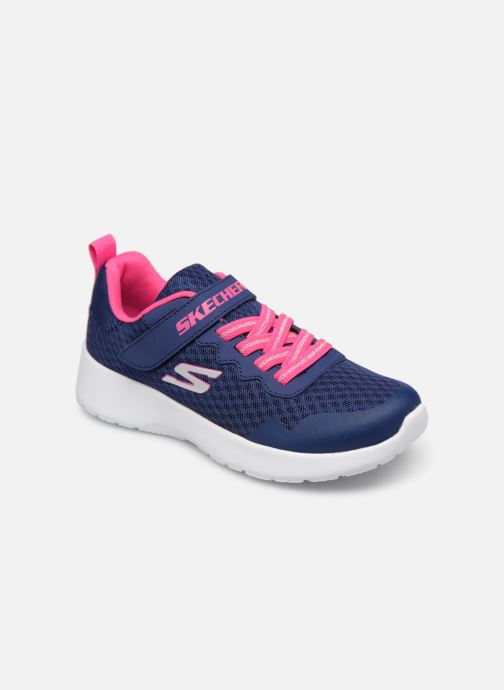 Chaussures de sport Skechers Dynamight Lead Runner Bleu vue détail/paire