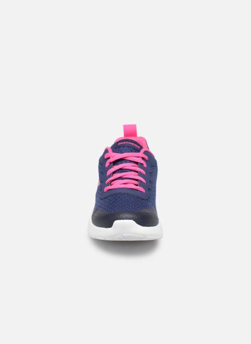 Chaussures de sport Skechers Dynamight Tempo Runner Bleu vue portées chaussures