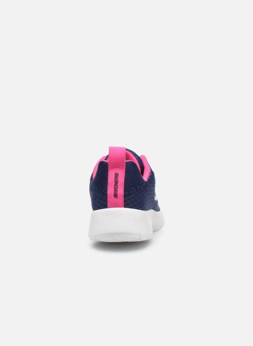 Zapatillas de deporte Skechers Dynamight Tempo Runner Azul vista lateral derecha