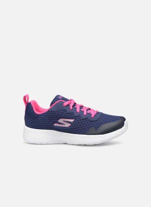 Chaussures de sport Skechers Dynamight Tempo Runner Bleu vue derrière