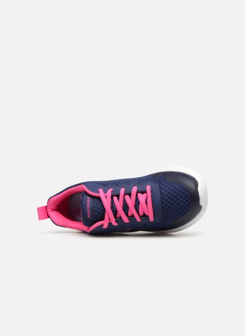 Zapatillas de deporte Skechers Dynamight Tempo Runner Azul vista lateral izquierda