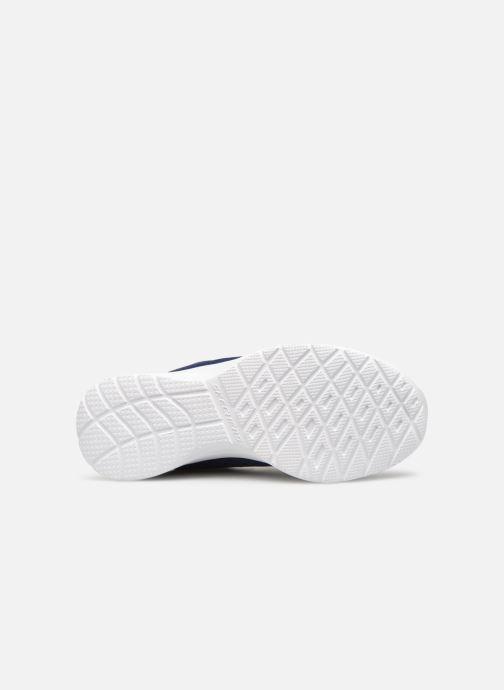 Chaussures de sport Skechers Dynamight Tempo Runner Bleu vue haut