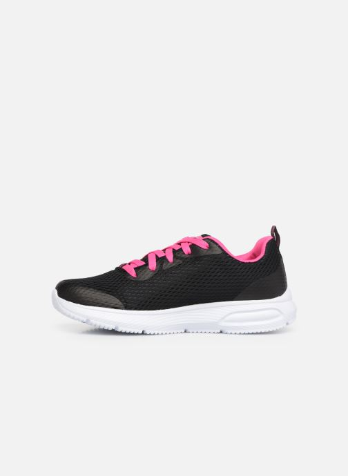 Trainers Skechers Dyna-Air Jump Brights Black front view