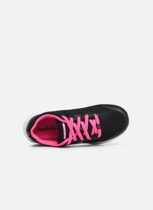 Trainers Skechers Dyna-Air Jump Brights Black view from the left