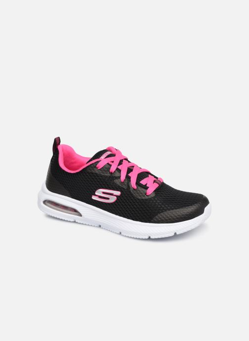 Trainers Skechers Dyna-Air Jump Brights Black detailed view/ Pair view