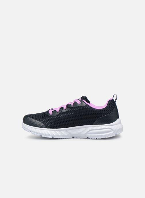 Sneakers Skechers Dyna-Air Jump Brights Blauw voorkant