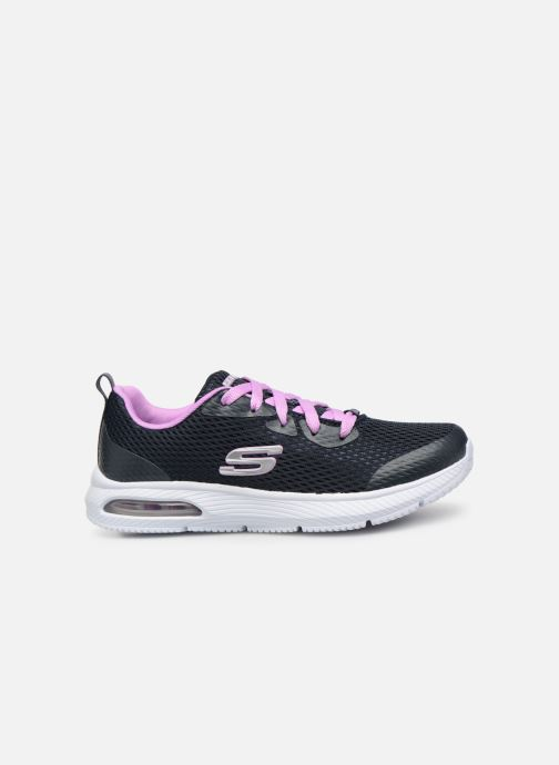 Trainers Skechers Dyna-Air Jump Brights Blue back view