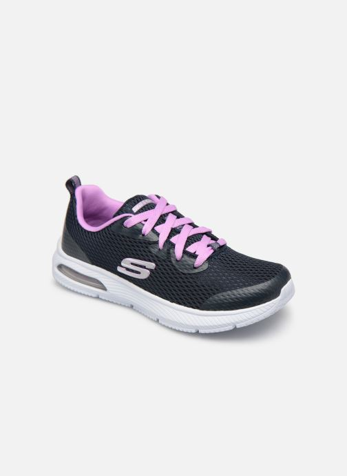 Trainers Skechers Dyna-Air Jump Brights Blue detailed view/ Pair view