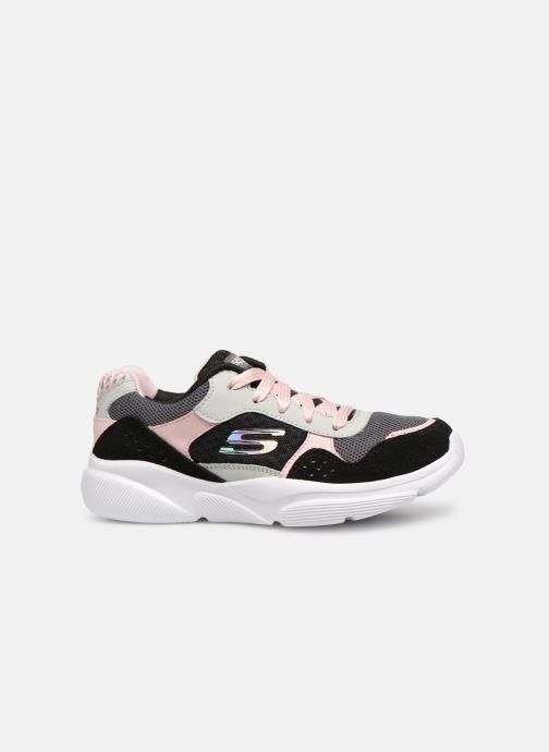 Chaussures de sport Skechers Meridian Charted Noir vue derrière