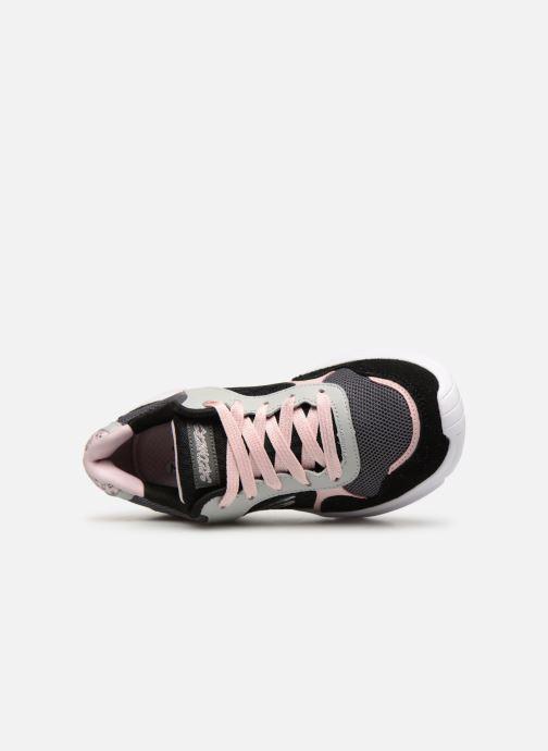 Chaussures de sport Skechers Meridian Charted Noir vue gauche