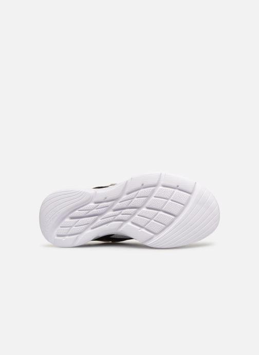 Chaussures de sport Skechers Meridian Charted Noir vue haut