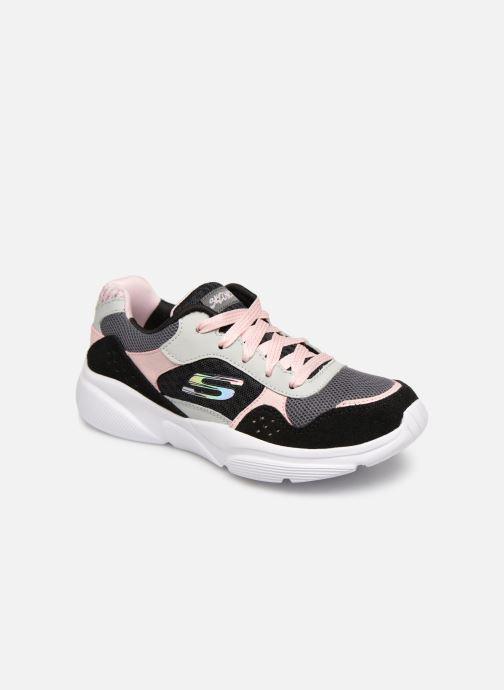 Chaussures de sport Skechers Meridian Charted Noir vue détail/paire