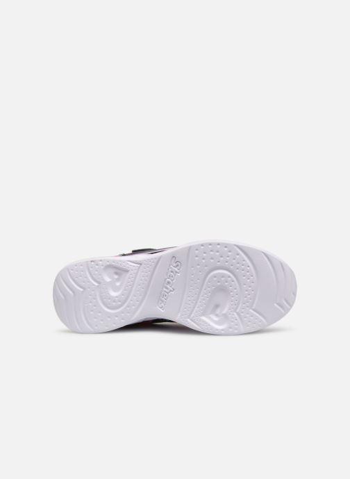 Sneakers Skechers Heart Lights Svart bild från ovan