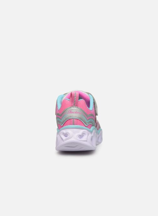 Deportivas Skechers Heart Lights Multicolor vista lateral derecha